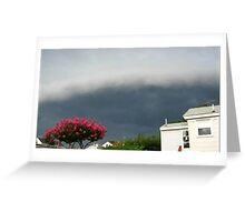 Severe Storm Warning 13 Greeting Card