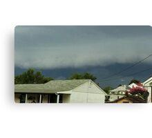 Severe Storm Warning 15 Canvas Print