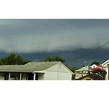 Severe Storm Warning 15 Photographic Print