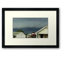 Severe Storm Warning 16 Framed Print