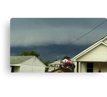 Severe Storm Warning 16 Canvas Print