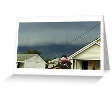 Severe Storm Warning 16 Greeting Card