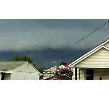 Severe Storm Warning 16 Photographic Print