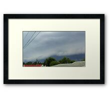 Severe Storm Warning 17 Framed Print