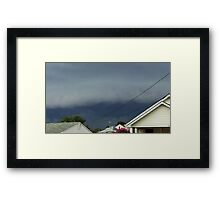 Severe Storm Warning 18 Framed Print
