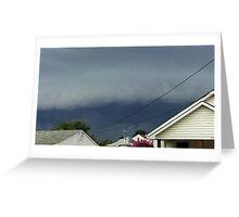 Severe Storm Warning 18 Greeting Card