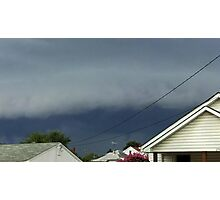 Severe Storm Warning 18 Photographic Print