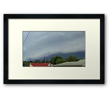 Severe Storm Warning 19 Framed Print