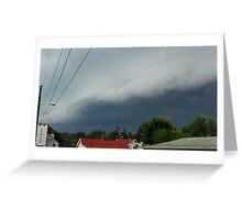 Severe Storm Warning 21 Greeting Card