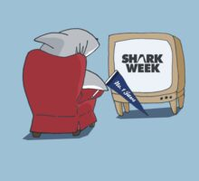 What shark's watch on Shark Week by gillianjaplit