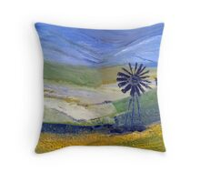 Canola in oil.  Throw Pillow