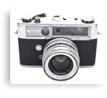 Vintage Camera Yashica Canvas Print