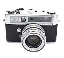 Vintage Camera Yashica Photographic Print