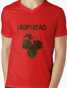Hophead Mens V-Neck T-Shirt