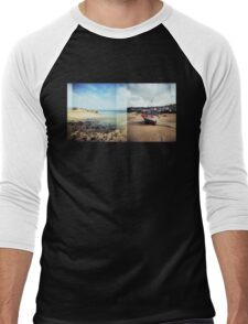 St Ives, Cornwall Men's Baseball ¾ T-Shirt