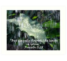 """Proverbs 11:28""  by Carter L. Shepard Art Print"