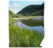 Perfect Day At The River Poster