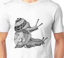 Snails Boho Illustration Unisex T-Shirt