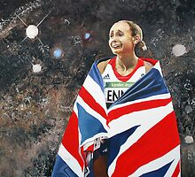 WIP Jessica Ennis by Jan Szymczuk