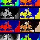 My Eyes See Color-Digital by © Angela L Walker