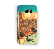 Vintage Chain Swing Ride on Blues Sky Samsung Galaxy Case/Skin
