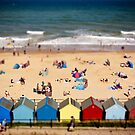 Mundesley Tilt Shift by Nicholas Jermy