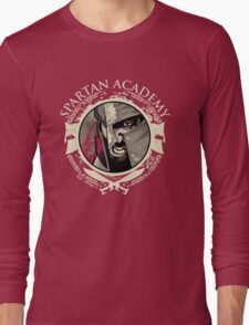 Spartan Academy - Full Color Version Long Sleeve T-Shirt