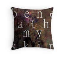 SKIN - BFMV Throw Pillow