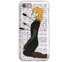 The Departure of Boromir iPhone Case/Skin