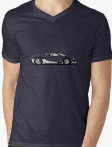 2011 Bugatti Veyron 16.4 Super Sport Alkon Mens V-Neck T-Shirt