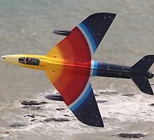 Hawker Hunter at Eastbourne Airshow by Shane Ransom