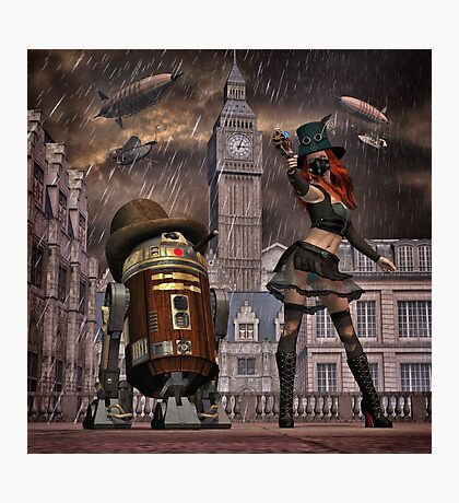 Steampunk Sci-Fi 2 Photographic Print