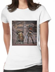 Steampunk Sci-Fi 2 Womens Fitted T-Shirt