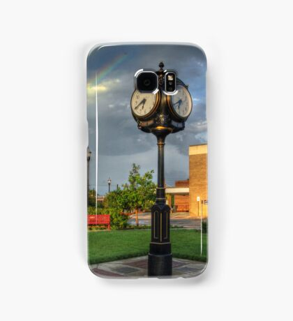 Town Clock Samsung Galaxy Case/Skin