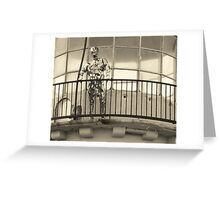 The Keeper On Watch Greeting Card