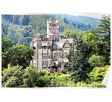 Grand house on Loch Lomond Poster
