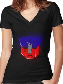 Autobot transformers Women's Fitted V-Neck T-Shirt