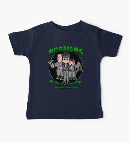 Norman's Paranormal pest control. Baby Tee