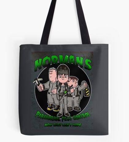 Norman's Paranormal pest control. Tote Bag