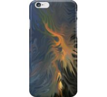 iPhone Case of painting...Peaking... iPhone Case/Skin