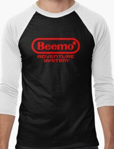 Beemo Adventure System (Red) Men's Baseball ¾ T-Shirt