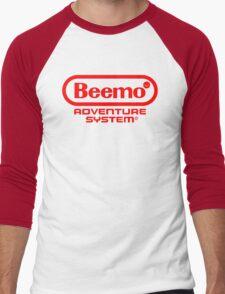Beemo Adventure System (Red) Men's Baseball ¾ T-Shirt