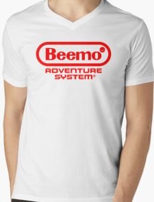 Beemo Adventure System (Red) Mens V-Neck T-Shirt