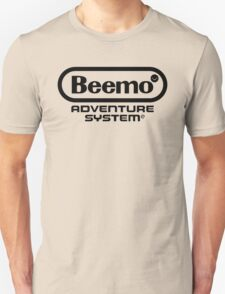 Beemo Adventure System (Black) Unisex T-Shirt