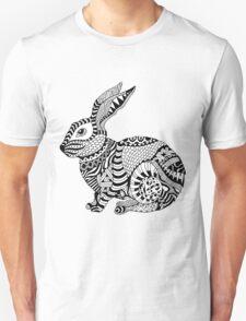 Rabbit Zentangle T-Shirt