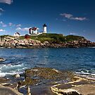 Nubble Light - Maine by Kathy Weaver