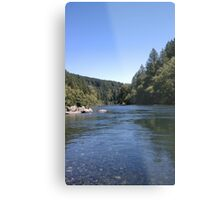Sunny Day At The River Metal Print