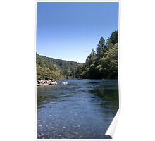 Sunny Day At The River Poster