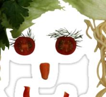 I love vegetables Sticker