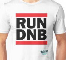 RUN DNB Design - Blk  Unisex T-Shirt